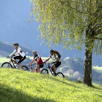 Mit dem Mountainbike auf die Seiser Alm