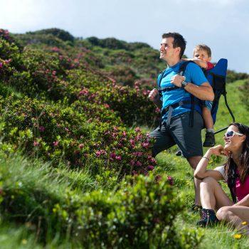Escursioni con la famiglia sull'Alpe di Siusi