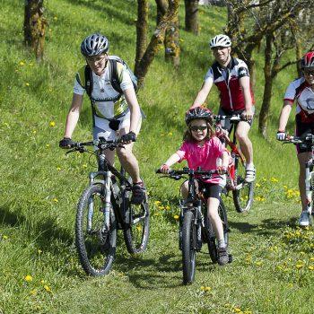 Explore the holiday village Siusi allo Sciliar by mountain bike