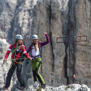 Alpine climbing with mountain guide, holidays at the Schmalzlhof in Siusi allo Sciliar