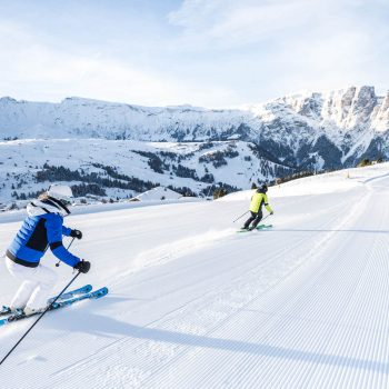 Wonderful ski slopes in winter on the Alpe di Siusi - Holiday in the holiday flat Schmalzlhof